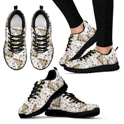 Chihuahua Pattern Sneakers
