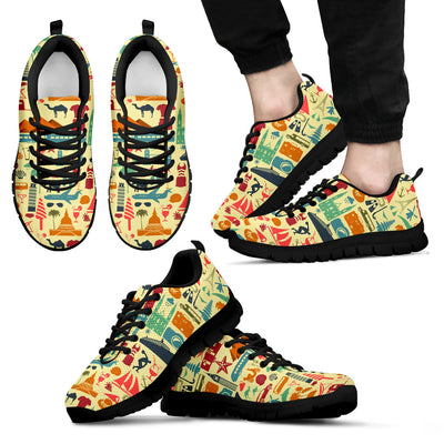Travel Background Sneakers