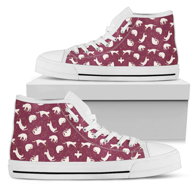 Cat Pattern High-Tops
