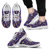 Bone Pattern Sneakers