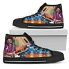 Jimi Hendrix High-Top Shoes 2