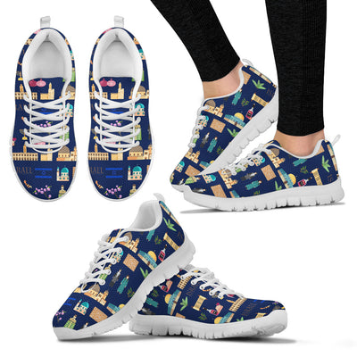 Israel Pattern Sneakers