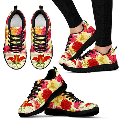 Botany Pattern Sneakers