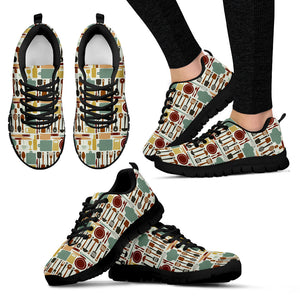 Culinary Pattern Sneakers