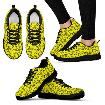 Chicks Pattern Sneakers