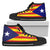 Catalonia Flag High-Top Shoes
