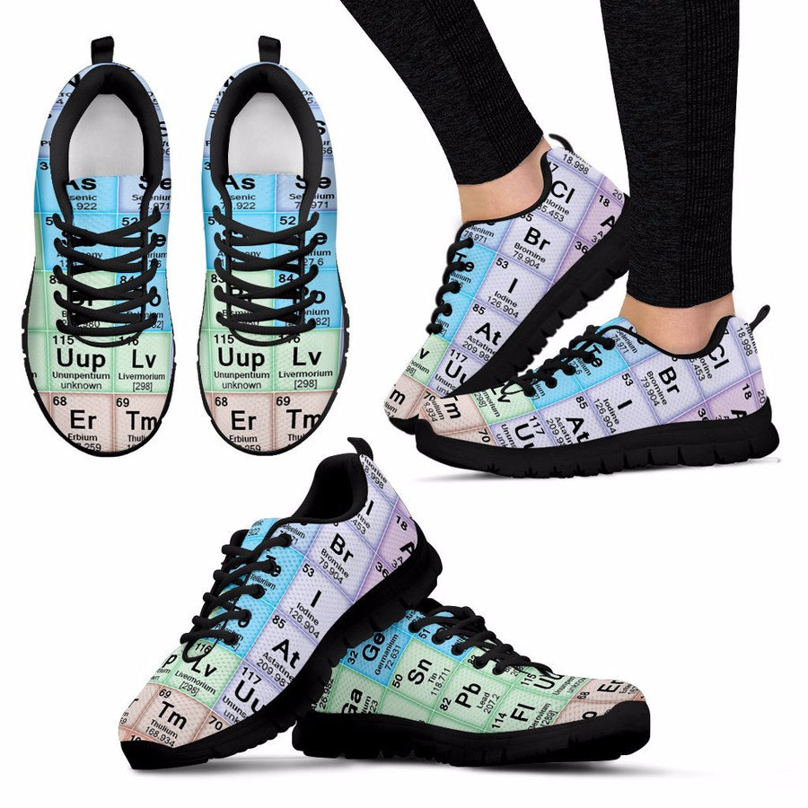 Sneakers flash savvy the periodic table sneakers urtaz Choice Image
