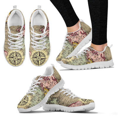 World Map Sneakers