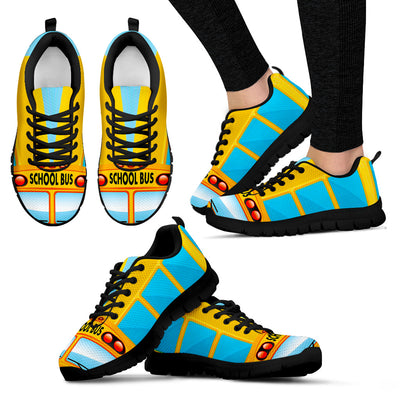 School Bus Sneakers