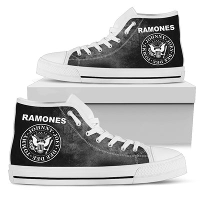 The Ramones High-Top Shoes
