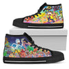 Rick & Morty High-Top Shoes