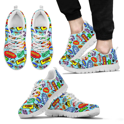 Comic Bubble Sneakers