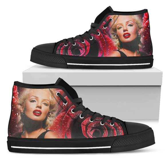 Marilyn Monroe High Top Shoes