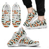 Dachshund Pattern Sneakers