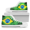 Brazil Flag High-Top Shoes