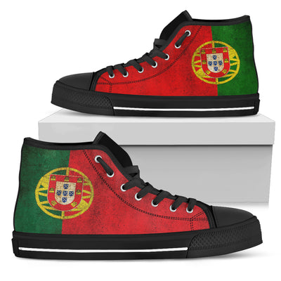 Portugal Flag High-Top Shoes