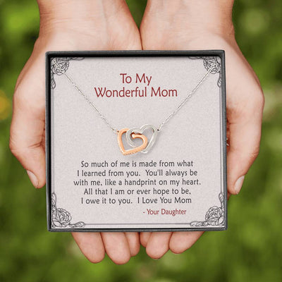 To Mom - So Much Of Me - Necklace