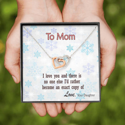 To Mom - Exact Copy of You - Necklace