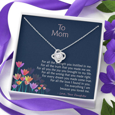 To Mom - For All The Things - Necklace
