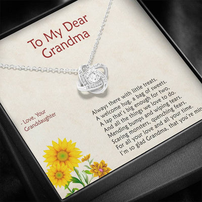 To Grandma - Glad You're Mine - Necklace