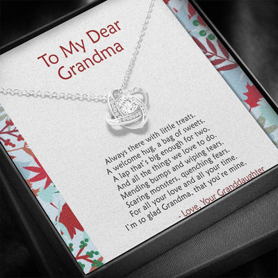 To Grandma - Always There - Necklace
