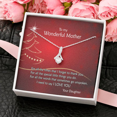 Forget to Thank - To Mothers - Necklace
