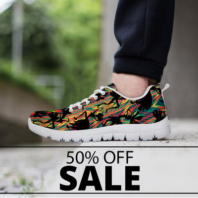 Colorful Dance Art Sneakers