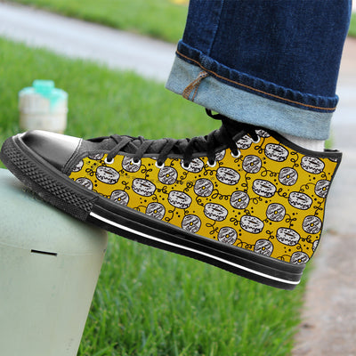Doughnut Pattern High-Tops