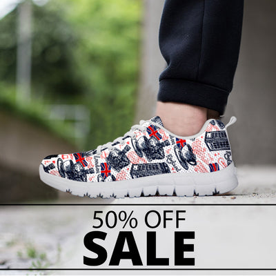 England Pattern Sneakers