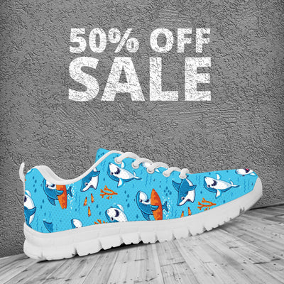 Funny Shark Sneakers