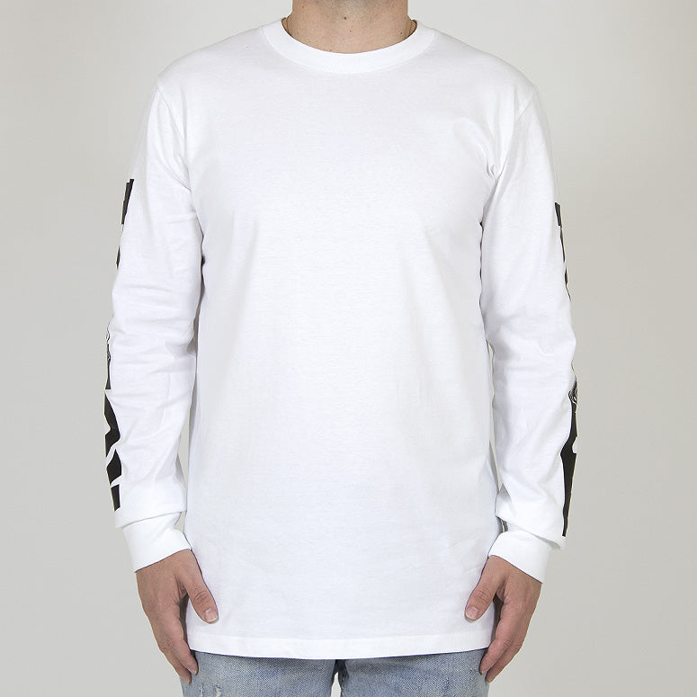 HYPED WHITE Long Sleeve