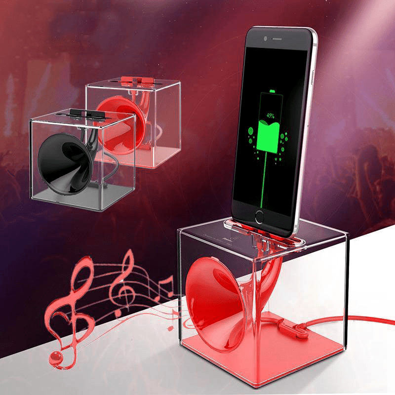 Music Box - BoomBass™ Charger for iPhone