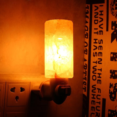 Rock Salt Lamp - Night-Light