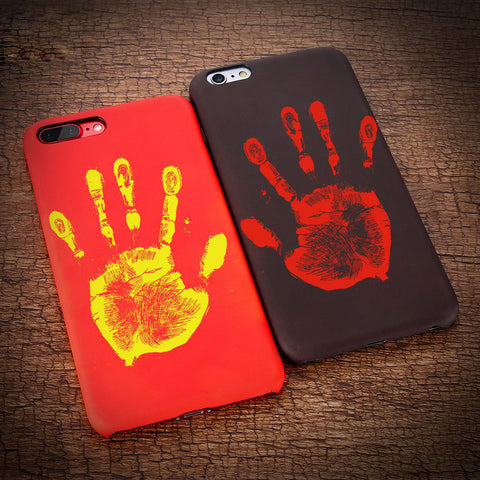 ThermoAlchemic™ Heat-Sensing iPhone Case