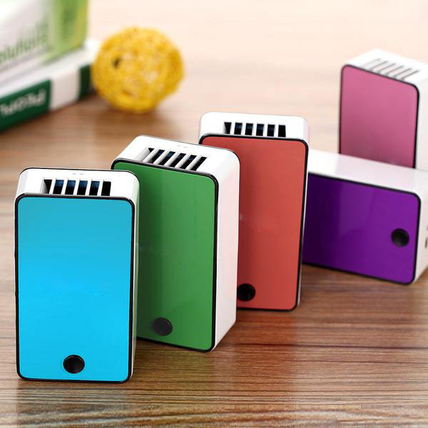 Micro Box Fan Personal Cooling Unit