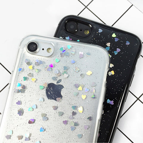 Realtime Glitter Waterfall iPhone Case