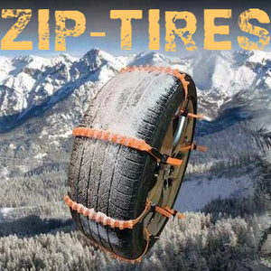 ZipTires™ - Extreme Durability - The BEST Solution For Snow Ice & Mud