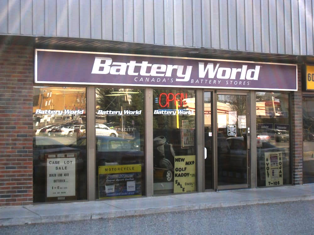 Nearest Battery Store >> Battery World Canada S Largest Battery Store