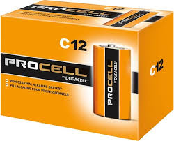 DURACELL PROFESSIONAL SERIES - PROCELL C'S