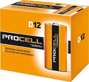 DURACELL PROFESSIONAL SERIES - PROCELL D'S