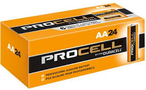 DURACELL PROFESSIONAL SERIES - PROCELL AA'S