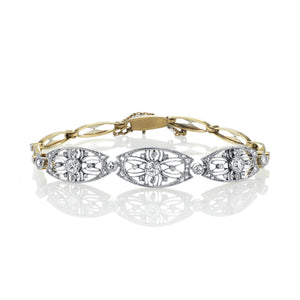 Edwardian Diamond Bracelet