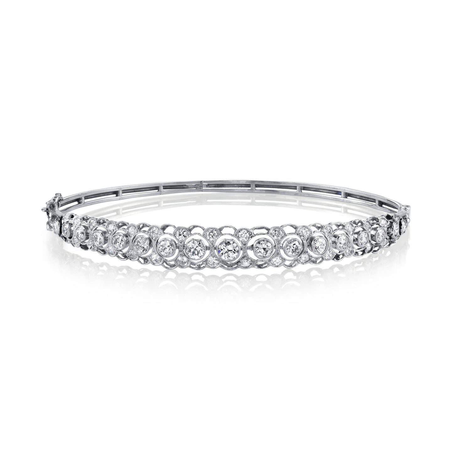 Edwardian Diamond Bangle