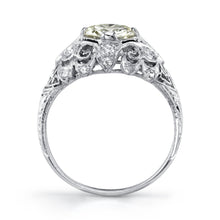 Load image into Gallery viewer, Platinum Filigree Ring
