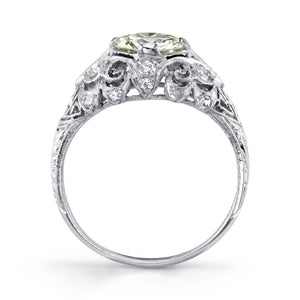 Platinum Filigree Ring