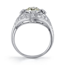 Load image into Gallery viewer, Platinum and Bezel set Diamond Ring