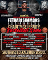 Ferrari Simmions First Annual Charity Celeberity Basketball Game