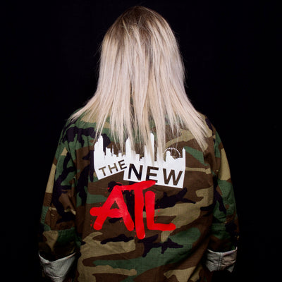 Graffiti Vintage Camo Jacket