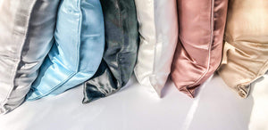 Silk Sea Australian owned Luxury 100% Mulberry Silk products to help you dream, live, be 6 beautiful colours