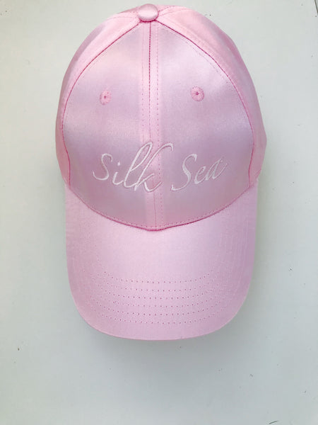 Luxe Satin Cap - Silk Sea